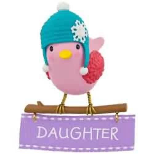 2017 Daughter Hallmark ornament - QGO1085