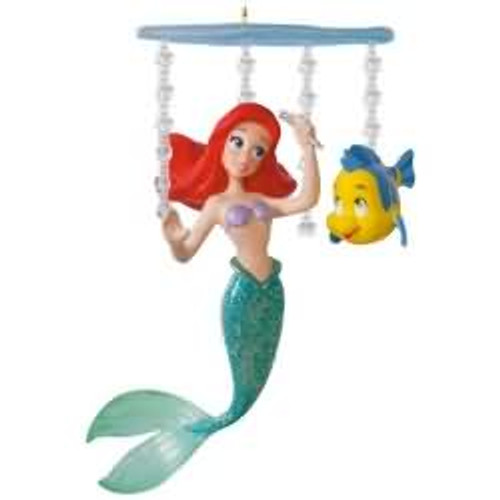 2017 Disney - Ariel's World - The Little Mermaid Hallmark ornament - QXD6232