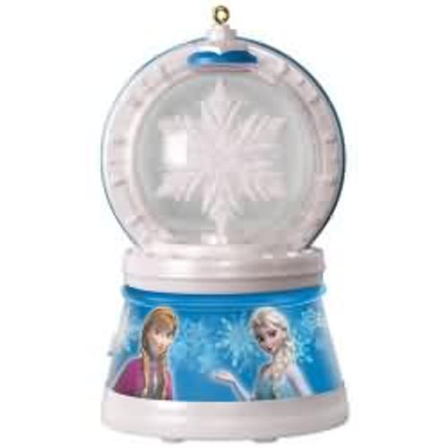 2017 Disney - Elsa's Magic Snowflake - Frozen Hallmark ornament - QXD6255