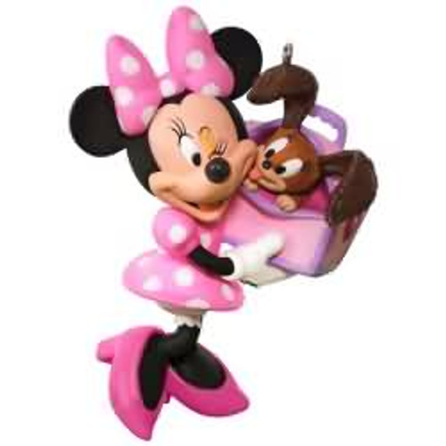 2017 Disney - Girl's Best Friend - Minnie Mouse Hallmark ornament - QXD6175
