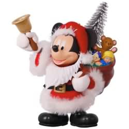 2017 Disney - Here Comes Santa! - Mickey Mouse Hallmark ornament - QXD6145
