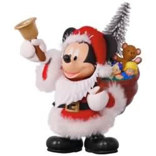 2017 Disney - Here Comes Santa! - Mickey Mouse Hallmark ornament - QXD6145