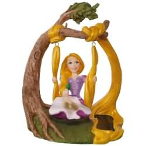 2017 Disney - In the Swing - Tangled Hallmark ornament - QXD6245