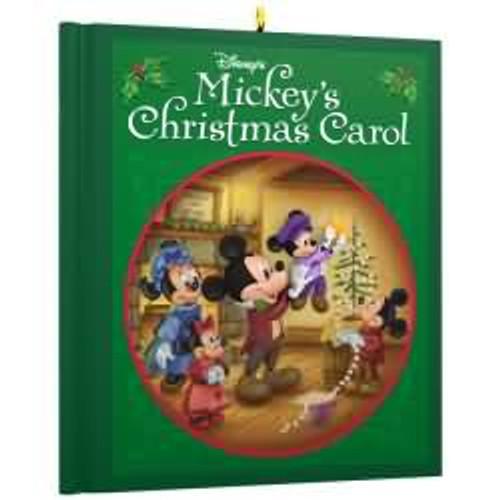 2017 Disney - Mickey's Christmas Carol - Mickey Mouse Hallmark ornament - QXD6115