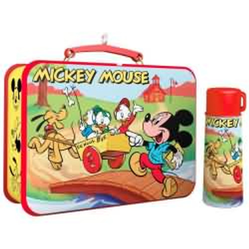 2017 Disney - Mickey Mouse Lunchbox - Mickey and Friends' Hallmark ornament - QXD6172