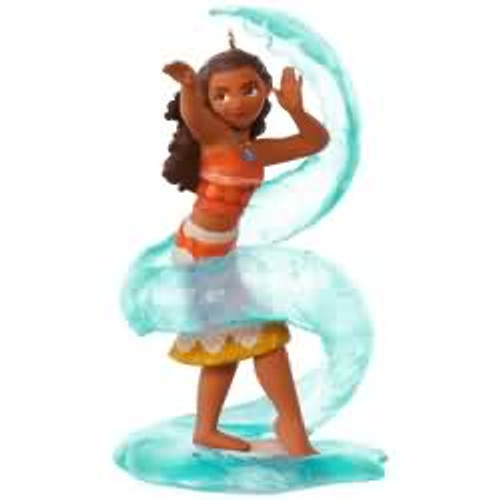 2017 Disney - Moana Waialiki Hallmark ornament - QXD6225