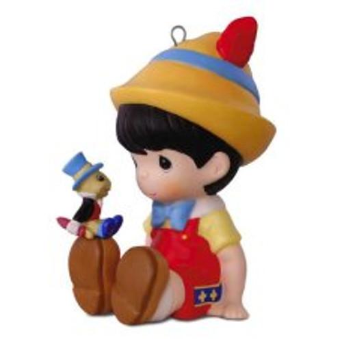 2017 Disney - Pinocchio and Jiminy Cricket - Precious Moments