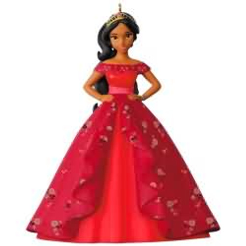 2017 Disney - Princess Elena - Elena of Avalor Hallmark ornament - QXD6275