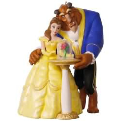 2017 Disney - Tale as Old as Time - Beauty and the Beast Hallmark ornament - QXD6215