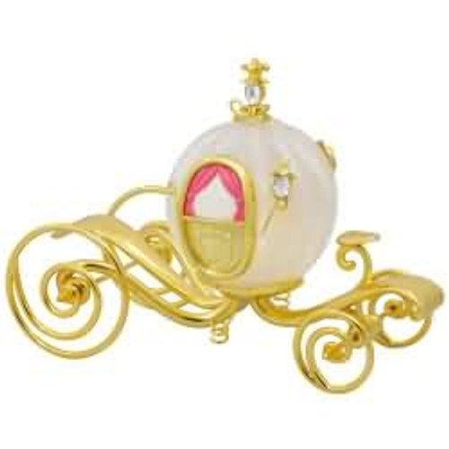 2017 Disney - Cinderella's Carriage Hallmark ornament - QXD6235