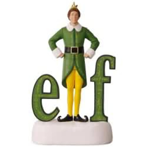 2017 Elf Hallmark ornament - QXI2422