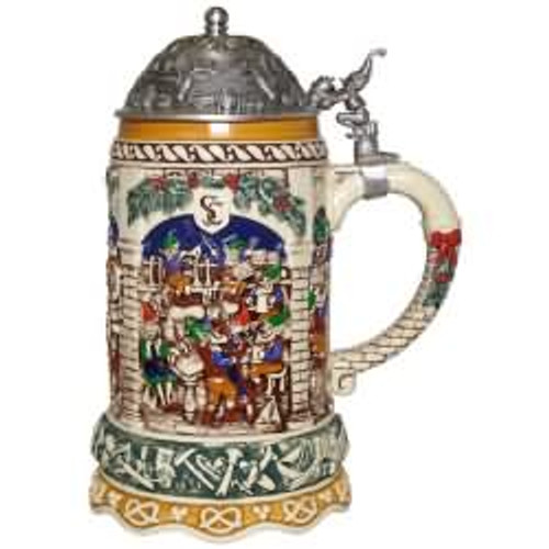 2017 Elf Festivities Beer Stein Hallmark ornament - QFM3322