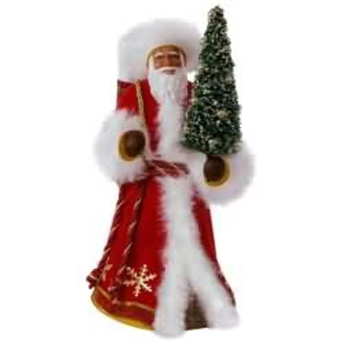2017 Father Christmas - African American Hallmark ornament - QSM7815
