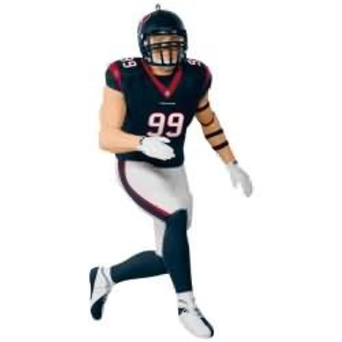 2017 Football - J.J. Watt - Houston Texans Hallmark ornament - QXI3492