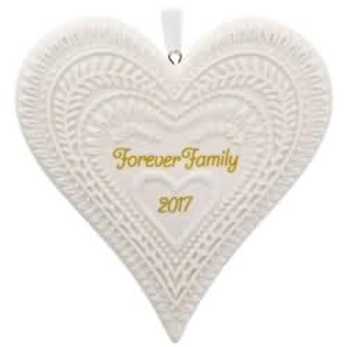 2017 Forever Family Hallmark ornament - QGO1125