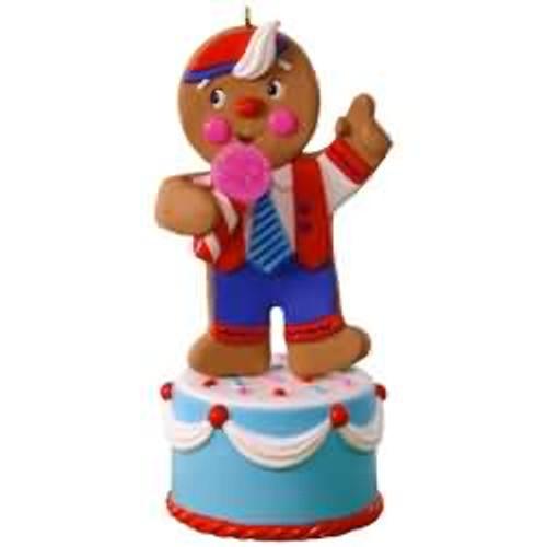 2017 Gingerbread Joker Hallmark ornament - QGO1422