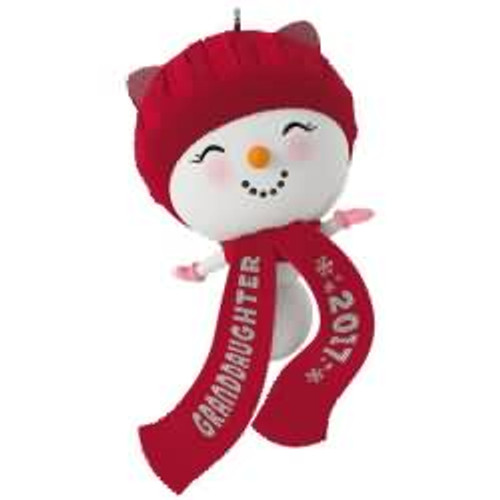 2017 Granddaughter Hallmark ornament - QGO1152