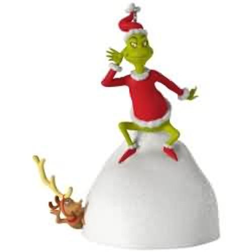 2017 Grinch - Welcome, Christmas Hallmark ornament - QXI3605