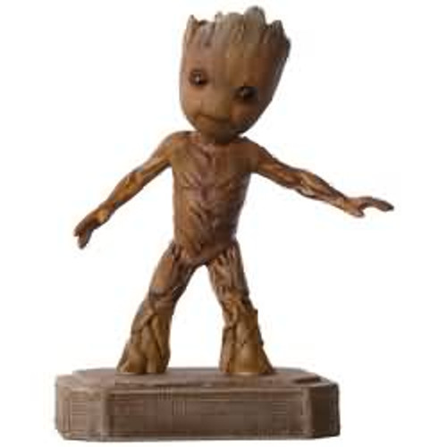 2017 Groovin' Groot - Guardians of the Galaxy Hallmark ornament - QXI3465