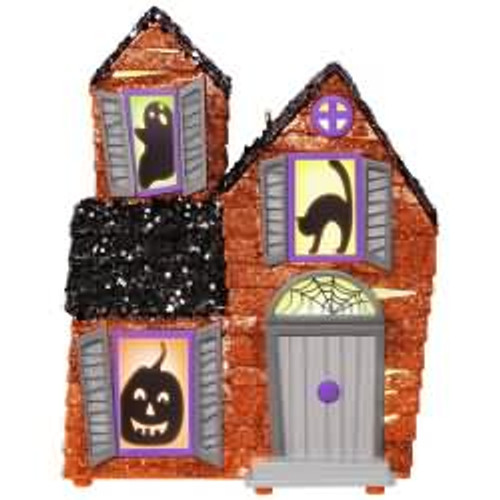 2017 Halloween - Mysterious Manor Hallmark ornament - QFO5252