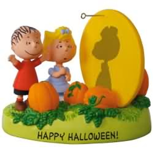 2017 Halloween - The Great Pumpkin Rises - Peanuts Gang Hallmark ornament - QFO5225