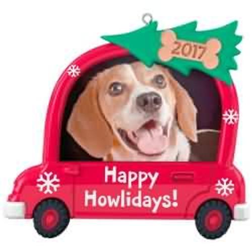 2017 Happy Howlidays! Hallmark ornament - QGO1122