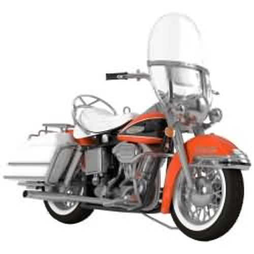 2017 Harley Davidson #19F - 1968 FLH Electra Glide Hallmark ornament - QX9255