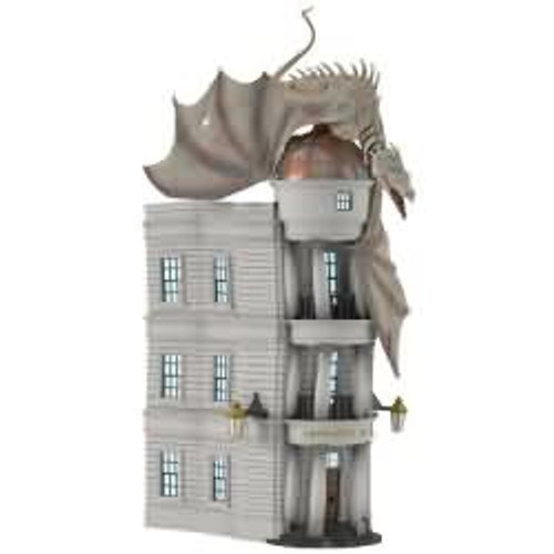 2017 Harry Potter - Gringotts Wizarding Bank Hallmark ornament - QXI3045