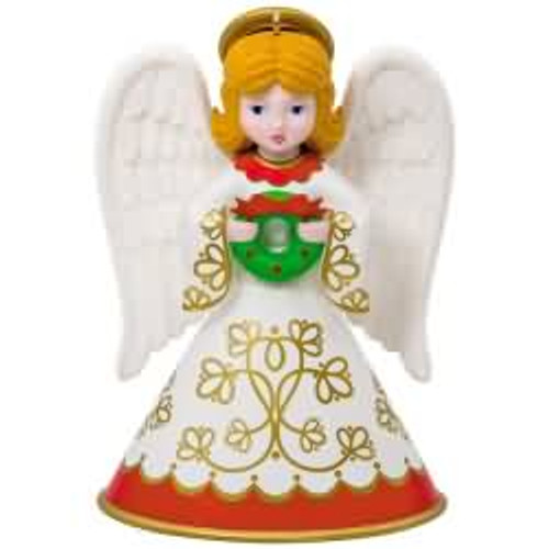 2017 Heirloom Angels #2 Hallmark ornament - QX9415