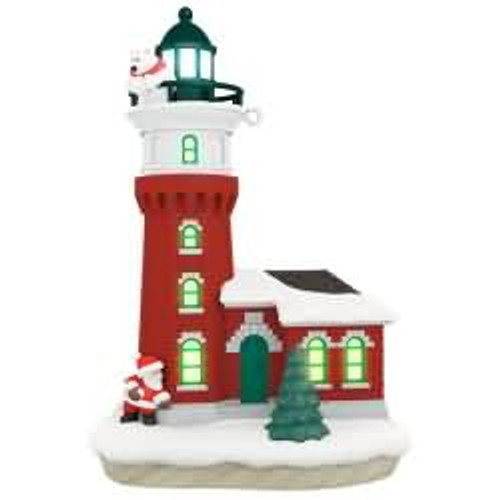 2017 Holiday Lighthouse #6 Hallmark ornament - QX9305
