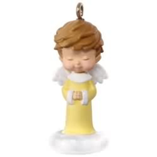 2017 Mary's Angel #30 - Honeysuckle Hallmark ornament - QX9282