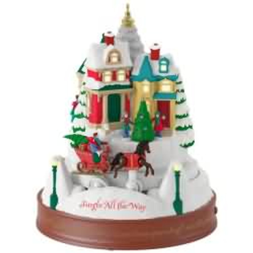 2017 Jingle All The Way Hallmark ornament - QGO1062