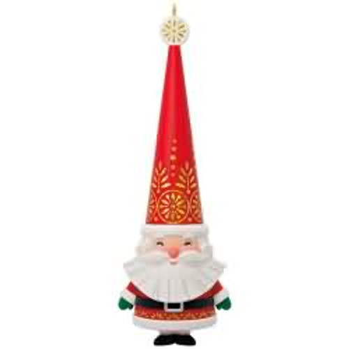 2017 Jolly Santa Hallmark ornament - QGO1765