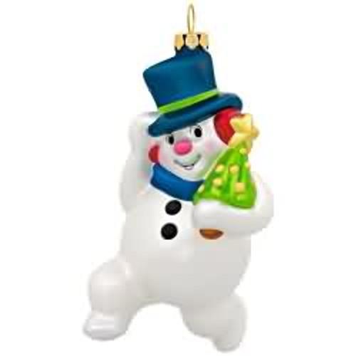2017 Jolly Snowman Hallmark ornament - QGO1524