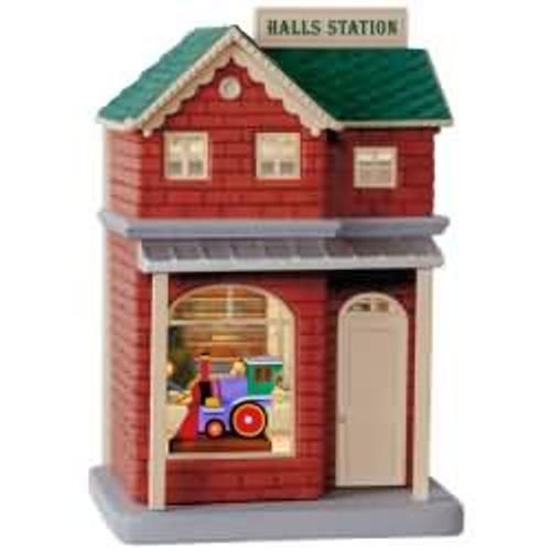 2017 Keepsake Korners - Hall's Station Hallmark ornament - QRP5952