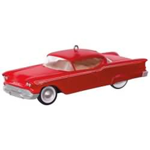 2017 Keepsake Kustoms #3 - 1958 Chevrolet Impala Hallmark ornament - QX9014