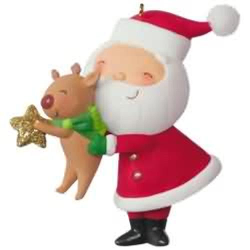 2017 Kringle and Kris #4 Hallmark ornament - QX9352