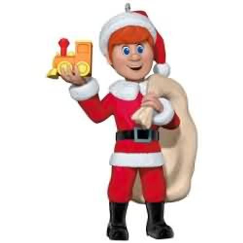 2017 Kris Kringle - Santa Claus is Comin' to Town Hallmark ornament - QXI2222