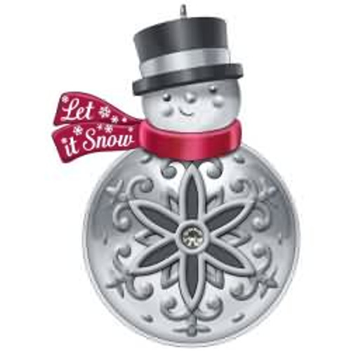 2017 Let It Snowman Hallmark ornament - QK1745