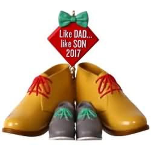 2017 Like Dad, Like Son Hallmark ornament - QGO1105
