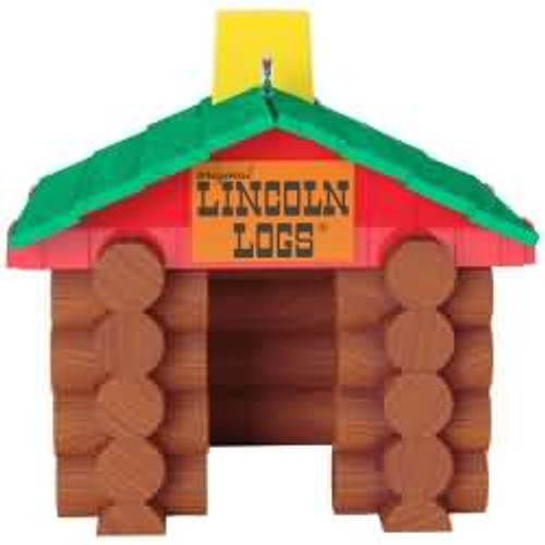2017 Lincoln Logs - Hasbro Hallmark ornament - QXI1392