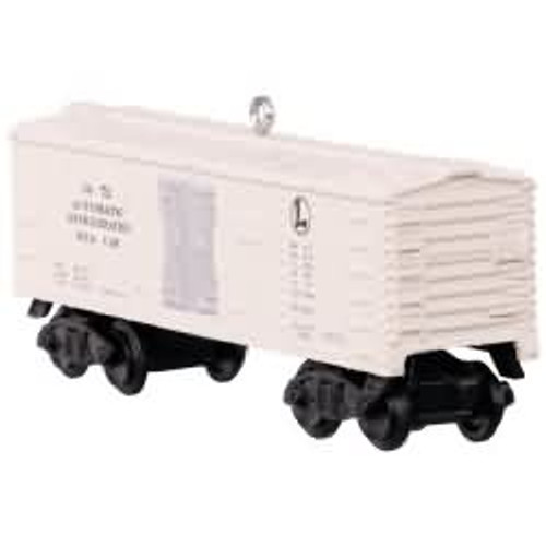 2017 Lionel 3472 Automatic Refrigerated Milk Car Hallmark ornament - QXI3202