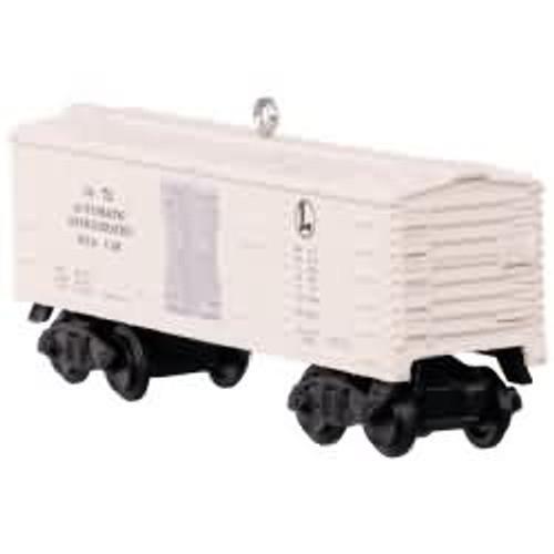 2017 Lionel 3472 Automatic Refrigerated Milk Car Hallmark ornament - QXI3202
