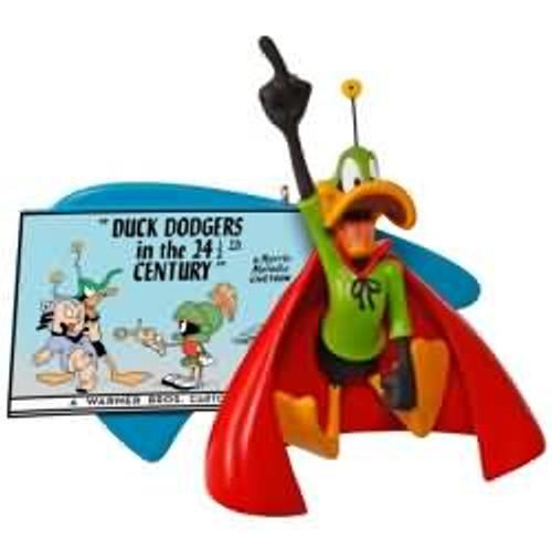 2017 Looney Tunes - Duck Dodgers in the 24 1/2th Century - Daffy Duck Hallmark ornament - QXI3012