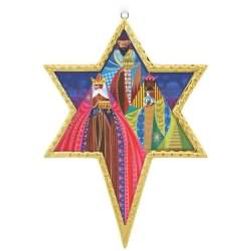 2017 Los Tres Reyes Magos Hallmark ornament - QSM7792