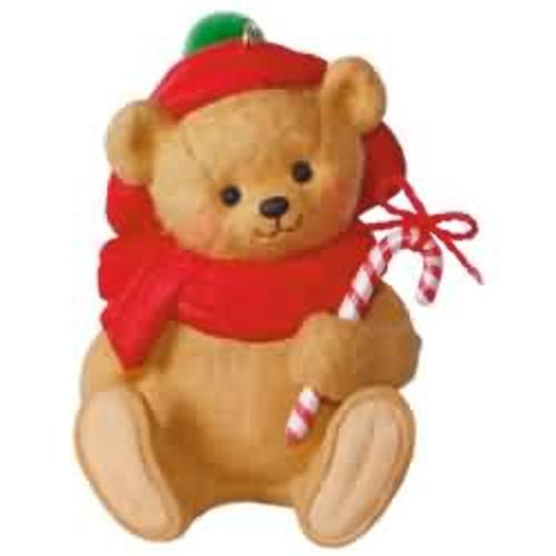 2017 Mary Hamilton's Bears #3 - Beary Festive Hallmark ornament - QX9455