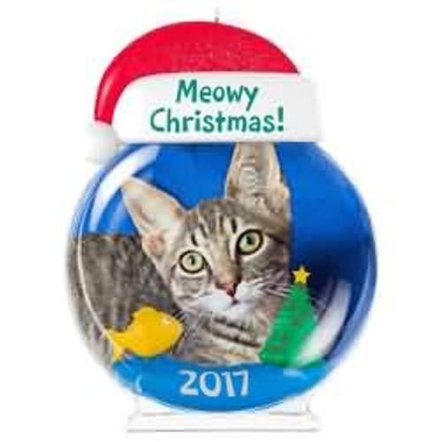 2017 Meowy Christmas! Hallmark ornament - QGO1115