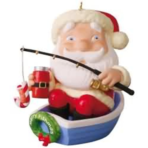 2017 Merry Fishmas Hallmark ornament - QGO1772