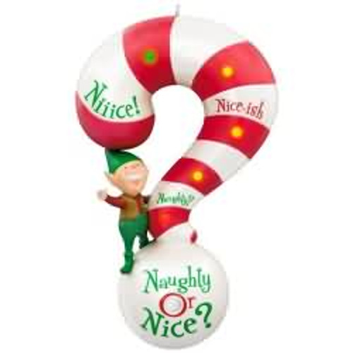 2017 Naughty or Nice? Hallmark ornament - QGO1632