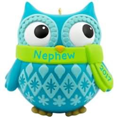 2017 Nephew Hallmark ornament - QGO1185